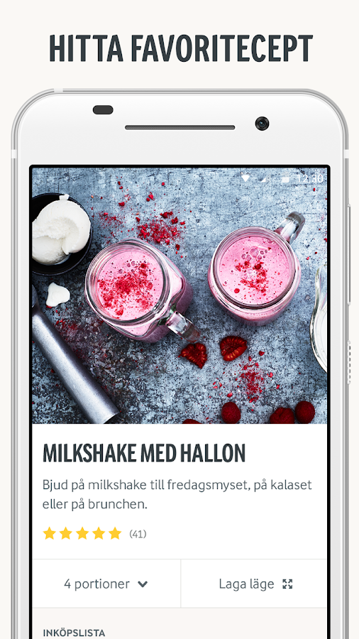 Arla Köket - Mat Middag Recept- screenshot
