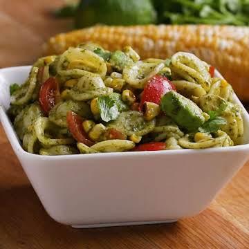 Grilled Corn Summer Pasta Salad Recipe by Tasty