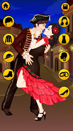Kissing Dressup For Girls - Cute Couple Makeover 3.1 screenshots 2