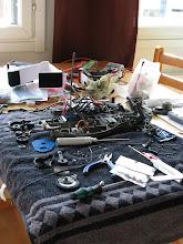 Photo: Kisaa edeltävää remontinkorjuuta