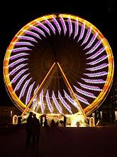 Photo: Weihnachtsmarkt - Christmas Market Essen - Ferris Wheel - Riesenrad 1.6s exposure