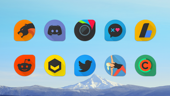 Blackdrop - Icon Pack Screenshot