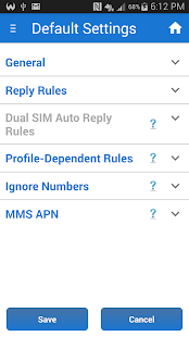Sleep / Silent Mode / Auto SMS- screenshot thumbnail