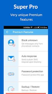 SMS Blocker. Clean Inbox- screenshot thumbnail