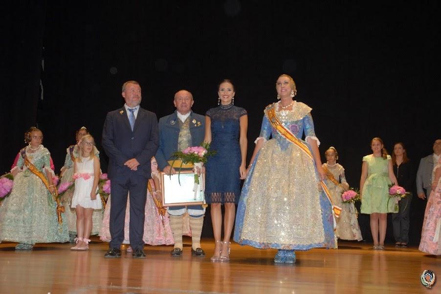 Acto de Nominación de las Falleras Mayores de FJFS 2019, Paula Marrón e Inés Miret, y sus Cortes de Honor