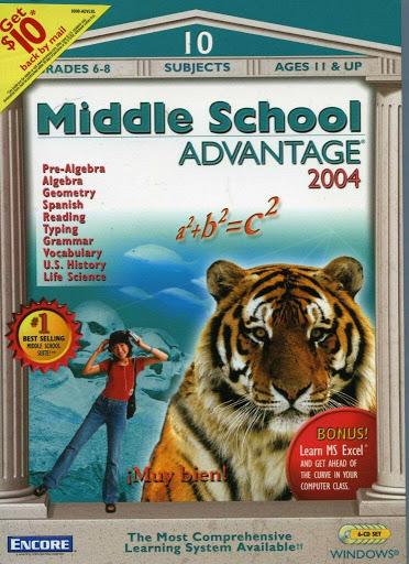 Video game:Middle School Advantage 2004 - Encore Software, Inc