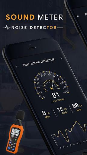 Sound Meter : Noise Detector & Decibel Meter App Report on Mobile