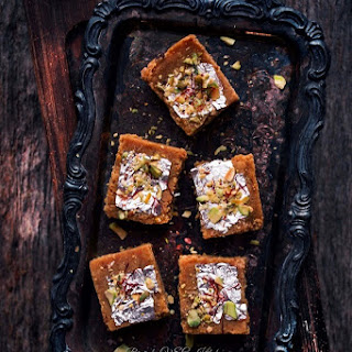 Mohanthal (Gram Flour Fudge)