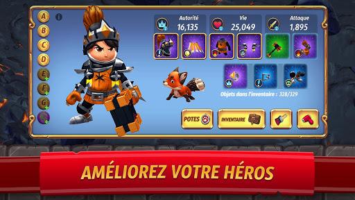 Code Triche Royal Revolt 2: Guerre & Stratu00e9gie - Bataille RPG APK MOD screenshots 3