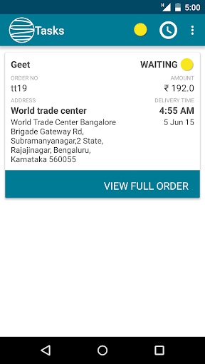 Locus Delivery App