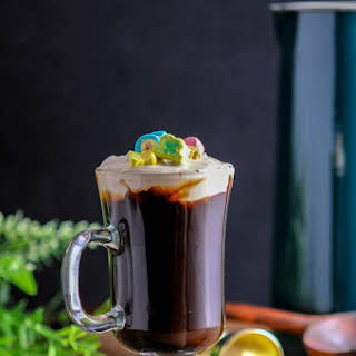 Toasted Cream Irish Coffee – A Whiskey Cocktail.