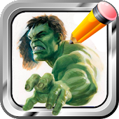 Draw Monster Incredible Hulk