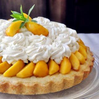 Brandied Peach Shortcake