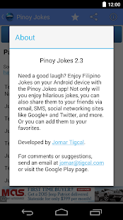 Pinoy Jokes- screenshot thumbnail