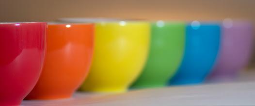 Photo: Ceramic Rainbow