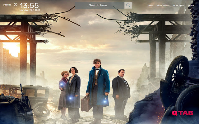 Fantastic Beasts Wallpapers Hd Theme