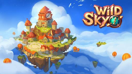 Wild Sky TD: Tower Defense Legends in Sky Kingdom screenshots 24