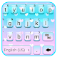 Pastel Hearts Keyboard Theme for PC Windows 10/8/7