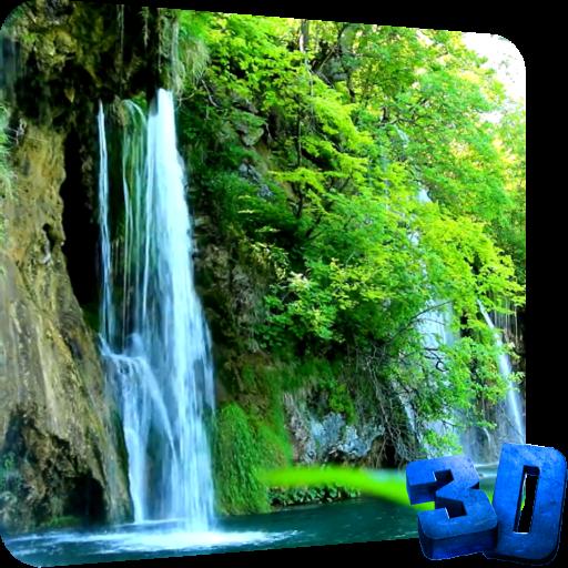 滝ライブ壁紙 個人化 App LOGO-APP試玩