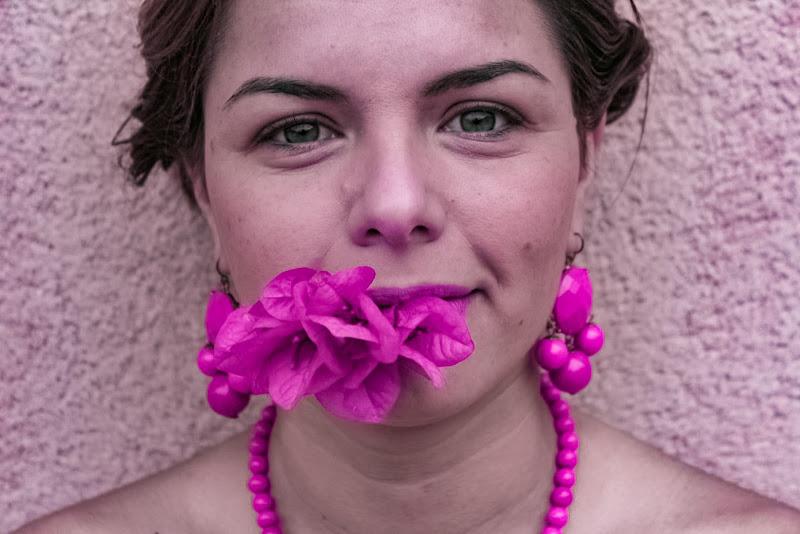 Pink Portrait di Arianna Giacalone