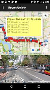 My DC Next Bus screenshot 2