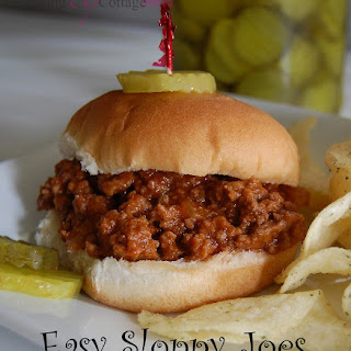 Easy Sloppy Joes.