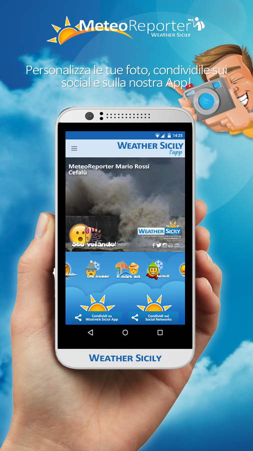 Weather Sicily- screenshot