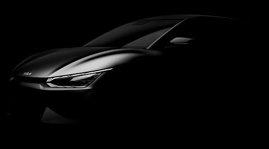 Kia Automóviles Robe revela el EV6