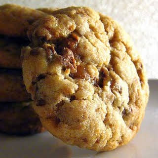 Heath Bar Cookies.
