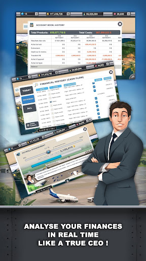 Airlines Manager - Tycoon 2018  screenshots 4
