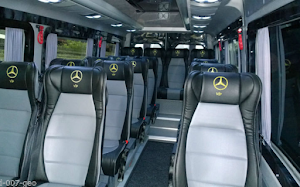Local Mini Bus Travel 5 to 16 Seater Mercedes Benz Van For Hire
