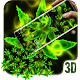 Green Weed Rasta Gravity 3D Theme Download on Windows