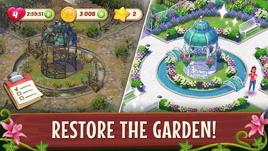 Lily's Garden Mod APK 1.67.0 (Unlimited Coins + Stars) for Android 1