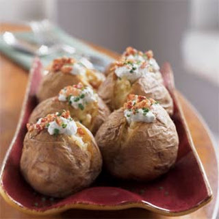 Yukon Gold Potatoes with Gorgonzola and Pancetta