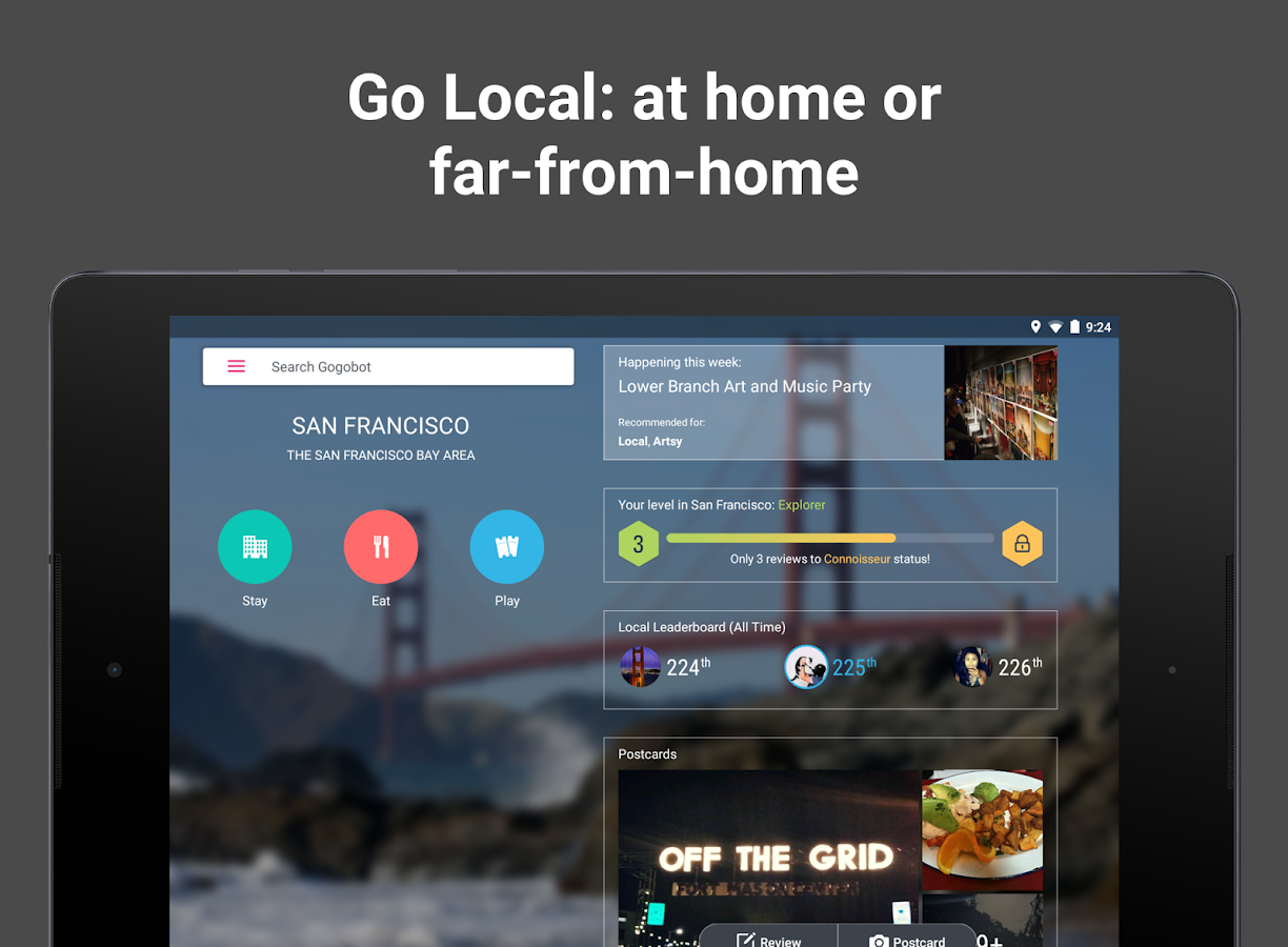 Gogobot - City & Travel Guide- screenshot