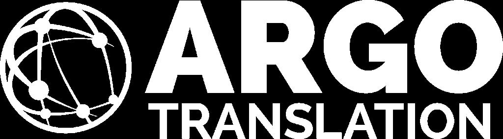 logo, argo translation, transparent, white