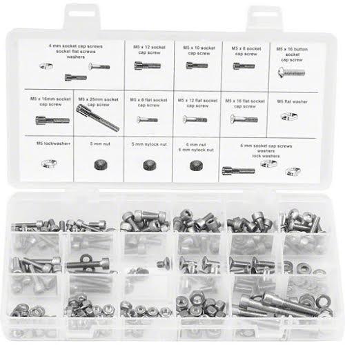 Wheels MFG 4,5,6mm Stainless Steel Fastener Kit