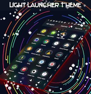 Light Launcher Theme - náhled