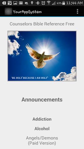 Counselors Bible Ref Free