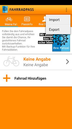 Fahrradpass 2.1.1 screenshots 2