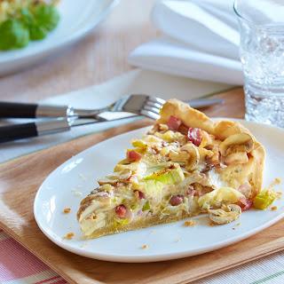 Champignon-Lauch-Pie