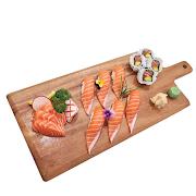 72. Medium Salmon Sushi & Sashimi