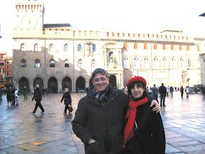 Photo: Bologna, piazza maggiore, 1 gennaio 2013