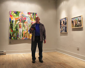 Photo: TOPoet.ca (Duncan Armstrong) @ Winter Snow Ball @ Urban Gallery Jan 2014