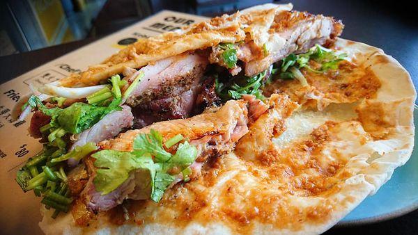 職人的燒烤捲餅,一吃分明的好味道~小南人烤肉廚房
