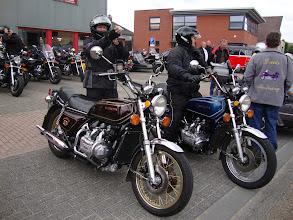 Photo: Klaar voor vertrek...deze Belgische deelnemers hadden al heel wat kilometers afgelegd voordat ze hier waren...