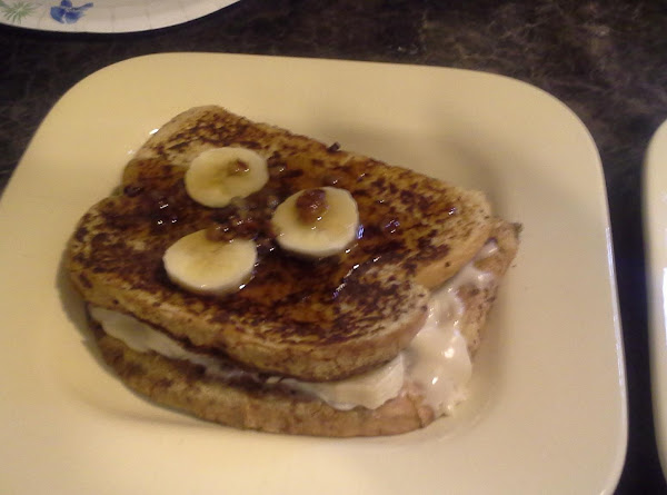 Banana Stuffed French Toast Recipe