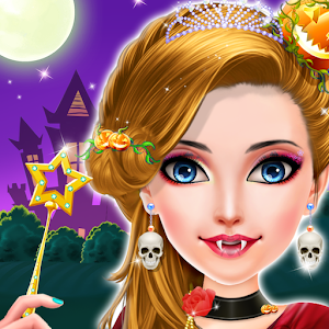Crazy Halloween Princess Makeover Spa Salon Icon