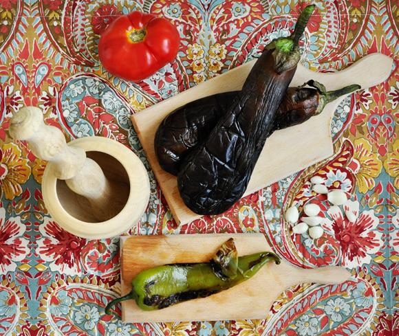 Roasted Eggplant Dip (Kyopoolu) Recipe