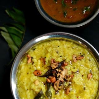 Ven Pongal – Savory Rice and Moong Dal Breakfast Porridge.